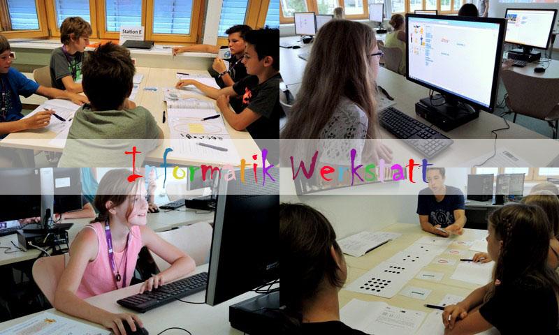 Informatikwerkstatt an der Universitaet Klagenfurt - Foto aau